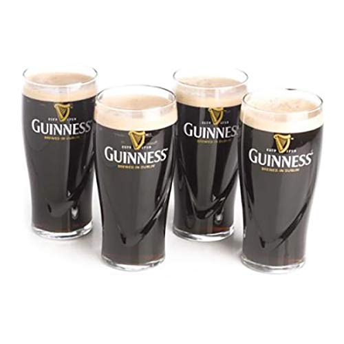 - Guinness 20oz Gravity Pint Glass - 4 Pack