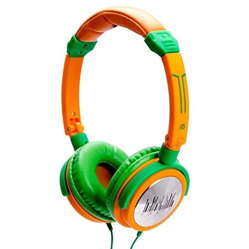 IDANCE CRAZY401 - Watt  - Channel Recording Studio Equipment , Orange and (Orange Dj Headphones)