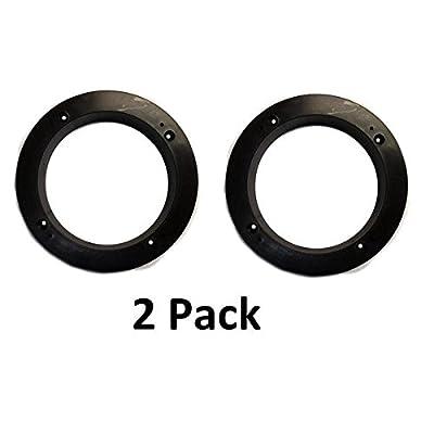 2 Pack Black Plastic 1