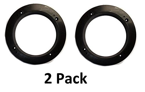 - JSP Manufacturing 2 Pack of 1 Black Plastic Depth Ring Adapter Spacer for 5.25