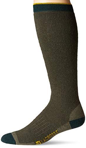 LaCrosse Men's Merino Midweight Over Calf Sock, OD Green - XL