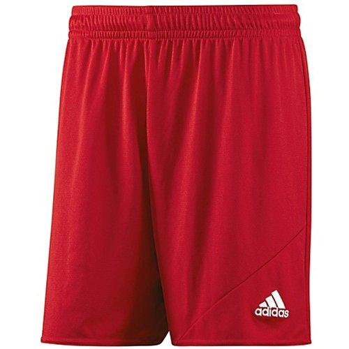 Adidas Men's Striker 13 Soccer Shorts , Scarlet, (Adidas Soccer Suit)