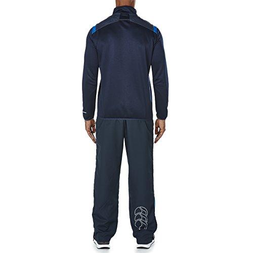 Homme Haut Canterbury Zip Vapodri Eclipse blue 4 Total Knitted Stripe 1 rwYTr