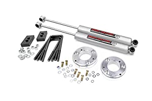 2. Rough Country 554.20 2-inch Leveling Kit with Shocks