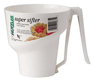 HIC Hutzler Sifter Super 3 Cup, Garden, Lawn, Maintenance