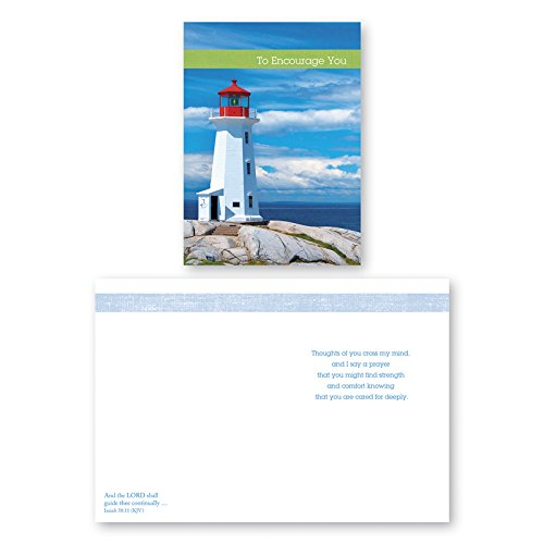 12-Pack-Boxed-Lighthouse-Encouragement-Cards-Bulk-with-KJV-Scripture-Greeting-Cards-Praying-for-you-with-Love-Thinking-of-You