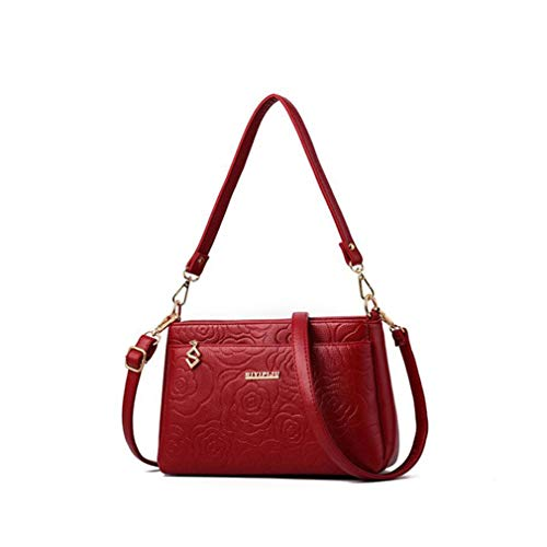 Red One Size Sacs Pink à bandoulière Party Femme Totes Crossbody Messenger S0pqZA8xw