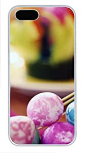 Basket Of Easter Eggs for sale iphone 5 case PC White for Apple iPhone 5/5S