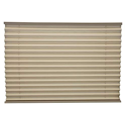 "RecPro RV Blinds Pleated Shades | Cappuccino | RV Window Shades | Camper | Trailer (32"" W x 24"" L)"