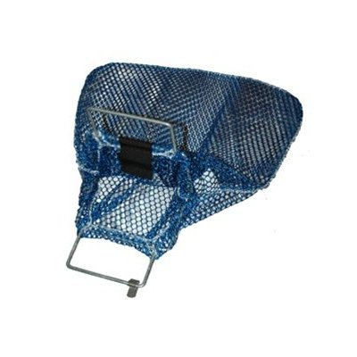 """Trident New Mesh Game Bag with Wire Handle & D-Ring for Scuba Divers & Snorkelers (10"""" x 15"""")"""