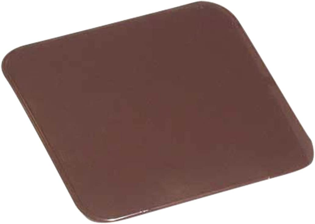 Kamino - Flam – Placa protectora contra chispas (60 x 80 cm), Antichispas de suelo para chimenea, Protector para chimeneas – resistente a altas temperaturas – forma cuadrada