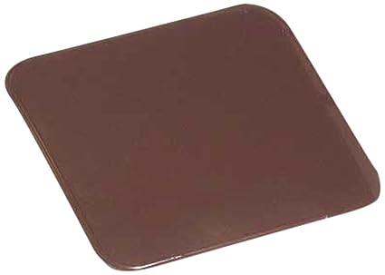 Kamino - Flam – Placa protectora contra chispas (60 x 80 cm), Antichispas de suelo para chimenea, Protector para chimeneas – resistente a altas ...