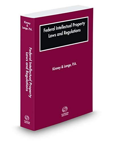 【SALE】 Federal Intellectual Property Laws B07QCN4P1G and and Regulations 2019 ed. 2019 [並行輸入品] B07QCN4P1G, 調理道具専門店 エモーノ:b8a72848 --- irlandskayaliteratura.org