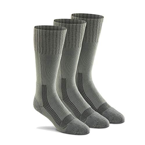 Fox River Men's Wick Dry Maximum Mid Calf Military Sock, 3 Pack (Foliage Green, Large)