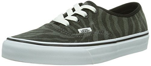 Vans U Authentic (Suede) Zebra/T - Zapatillas de deporte Unisex adulto, Negro (Zebra/True White), 38.5 EU (5.5 Erwachsene UK)
