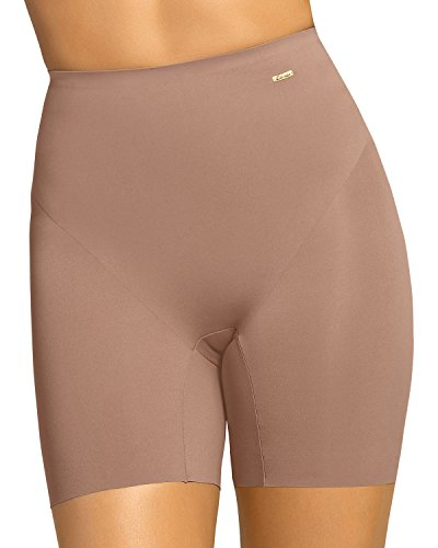 Leonisa Women's Invisible Padded Booty Lifter Enhancer Shaper Short - Booty Shapers