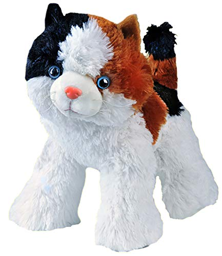 Stuffems Toy Shop Record Your Own Plush 16 inch Calico The Cat - Ready 2 Love in a Few Easy Steps