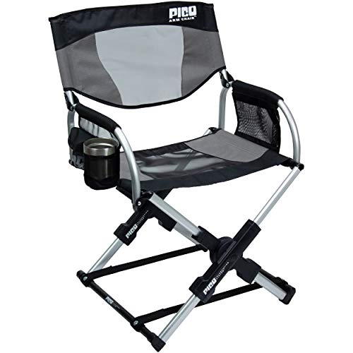 GCI Outdoor Pico Compact Folding Camp Chair with Carry Bag (Pico Chair)