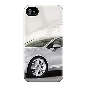 Premium Durable Citroen C5 Fashion Tpu Iphone 4/4s Protective Case Cover