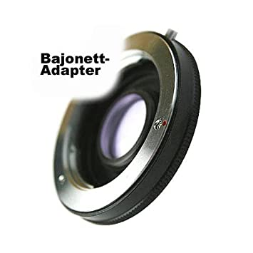 Adaptador Minolta MD/MC (Sr) Bayoneta de Objetivo a Bayoneta Sony ...