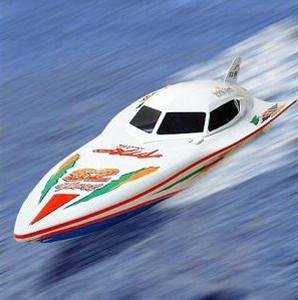 bateau a moteur telecommande