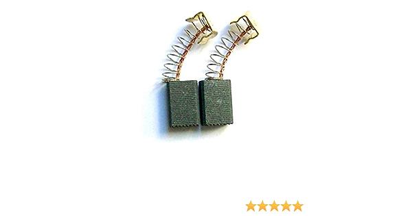 Escobillas de Carb/ón para MAKITA HP2051 taladro 2.4x3.5x4.3 6x9x11mm