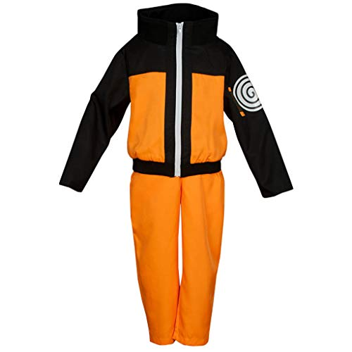 CosFantasy Japan Anime Shippuden Uzumaki Cosplay Costume mp002181 (Kid S) -
