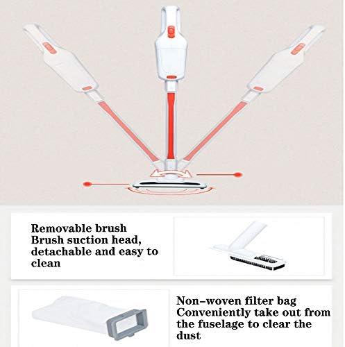 GTRR Aspirateur Domestique sans Fil À Tige Poussoir L\'aspirateur Rechargeable Mural Peut Aspirer Les Poils d\'animaux - Blanc