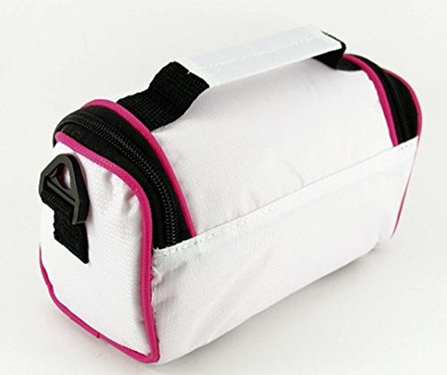 para Negro Mujer Púrpura With Hot Cool Trims Eléctrica White al Hombro Bolso Pink TGC qx4XtU4