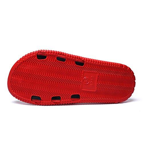 taglia uomo piscina alla 43 Color da EU Scarpe Pantofola da Tacco 45EU Scarpe da shoes Scarpe uomo Verde Jiuyue Dimensione piatto fino Rosso qwt7aa