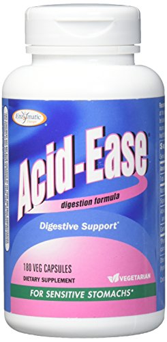 - Enzymatic Therapy Acid-Ease Digestion Formula for Sensitive Stomachs, 180 Veg Capsules