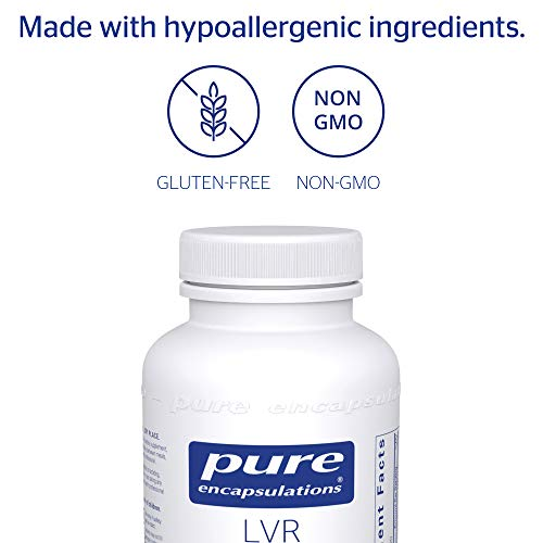 Pure Encapsulations - LVR Formula - Hypoallergenic Supplement with Antioxidant Support for Liver Cell Health* - 120 Capsules by Pure Encapsulations (Image #3)