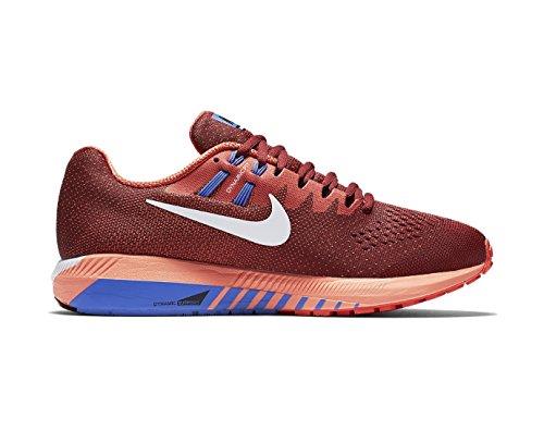 Scarpe Running 20 Uomo Rosso Trail Nike Zoom Da Air Structure SBnSIqU0