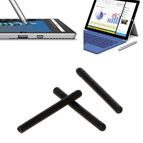 watersouprty 3pcs Scratch-Proof Replacement Touch Stylus Pen Tip for Microsoft Surface Pro 4