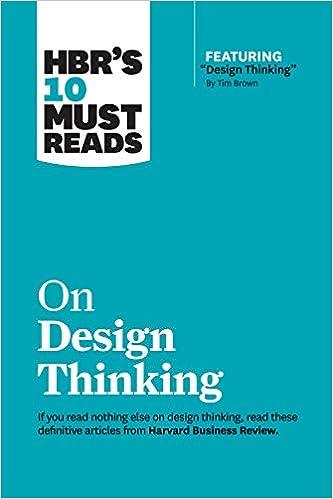 HBR Design Thinking