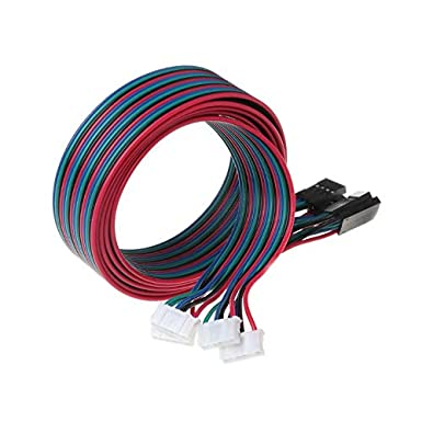 Cables de motor paso a paso de 1 metro de largo con conector ...