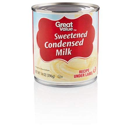 Creamy and Tasty Pure Sweetened Condensed Milk, 14 oz, Pack of 2