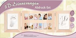 Mammut A30KSE15 Memorias 3D - Marco para recuerdos del bebé con espacio para fotos y huellas [importado de Alemania]