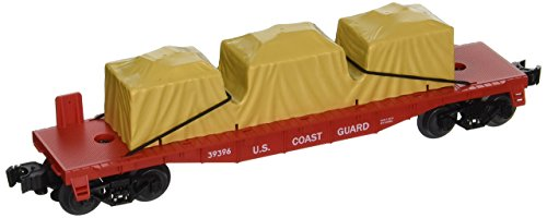 Lionel Trains Coast Guard US Made Flatcar ()