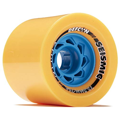 Seismic Alpha Longboard Wheels - 75.5mm - 77a Mango