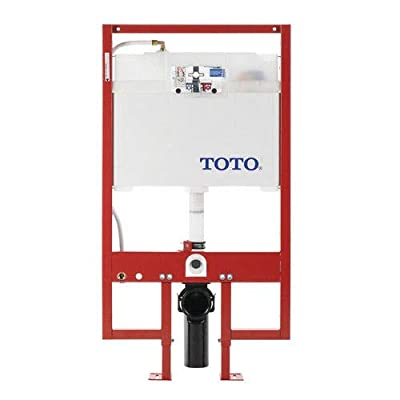 Toto Wt153M#01 Duofit In-Wall Tank System Pex Supply Duofit In-Wall Toilet Tank Dual-Flush System With Pex Supply, Cotton