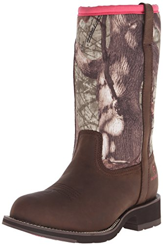 Ariat Women's Fatbaby All Weather Western Cowboy Boot, Palm Brown/Camo Neoprene, 11 M US ()
