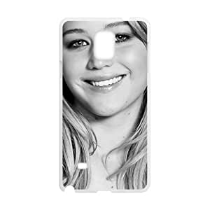 Smiling lovely girl Cell Phone Case for Samsung Galaxy Note4