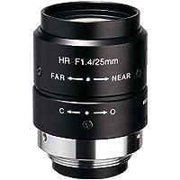 Kowa LM25JCM 2/3 25mm F1.4 Manual Iris C-Mount Lens, 2 Megapixel Rated