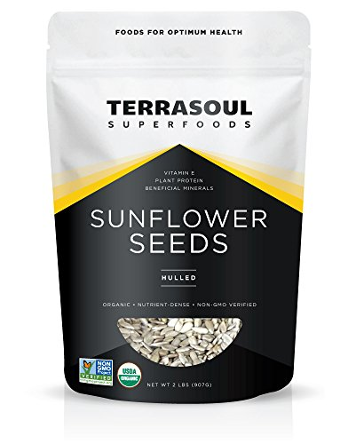 Terrasoul Superfoods Domestic Hulled Sunflower Seeds (Organic)