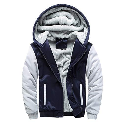 Belted Columbia Shorts (HTDBKDBK Mens Hoodie Winter Warm Owl Print Fleece Zipper Sweater Jacket Outwear Coat Tops Fleece Thickened Hooded Coat)