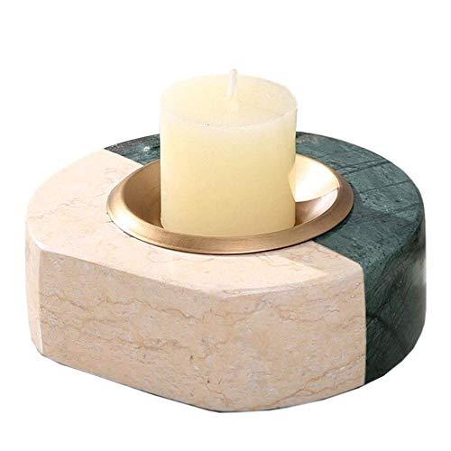 WXJWPZ Modern Candlestick Nordic Candelabra Lamp Romantic Light Wedding Decoration Table Center