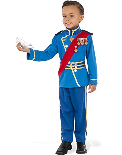 Rubies Costume Child's Royal Prince Costume, Medium, Multicolor