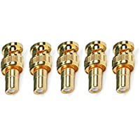 5 PCS BNC Male to RCA Female Adaptor Gold Plated, CNE579986