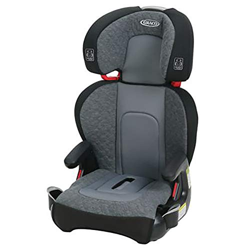 Graco Highback TurboBooster Height Adjustable Car Seat for 40-100 Pounds, Denver